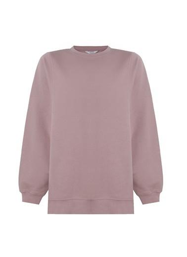 Deux Beautés Ines Oversize Sweatshirt - Oyster Pink  Pembe